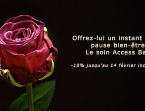 Soin Access Bars : offre spéciale Saint Valentin !